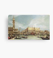 Canaletto - The Molo, Venice Canvas Print