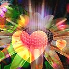 Love Flower by Brian Exton