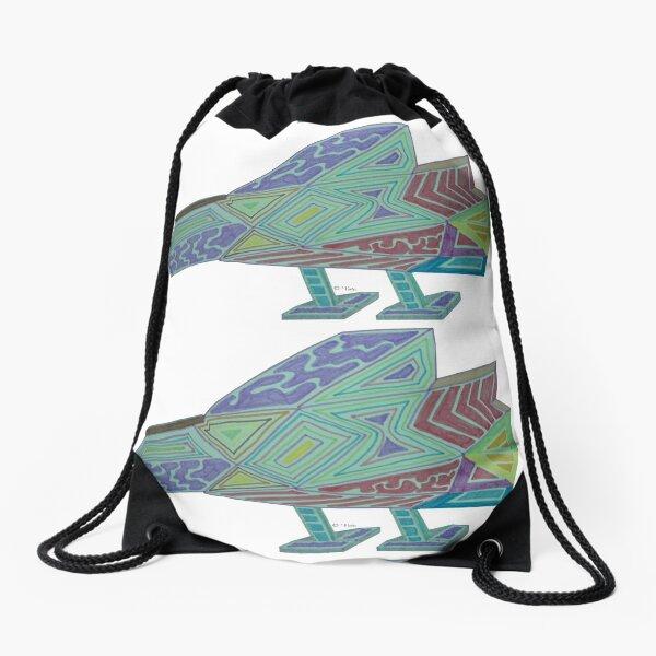 Vessel Drawstring Bag