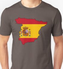 Spain Flag Country Unisex T-Shirt