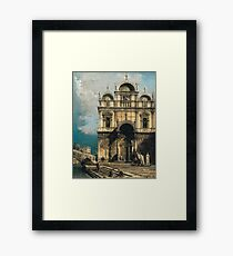 Canaletto - The School Of San Marco Framed Print