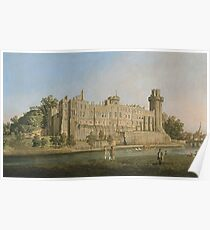 Canaletto - The South Facade Of Warwick Castle Poster