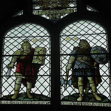 Put On The Whole Armour Of God, Stained Glass, Wareham, Dorset by MagsWilliamson