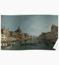 Canaletto - Venice - The Grand Canal With S. Simeone Piccolo Poster