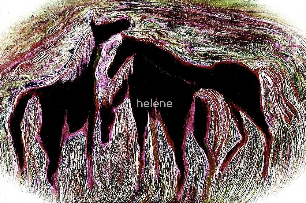 Horses 4 by helene