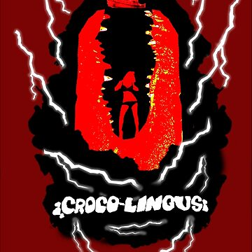 CrocoLingus Poster T-shirt by TrailersPU