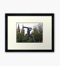 Don Bradman Framed Print
