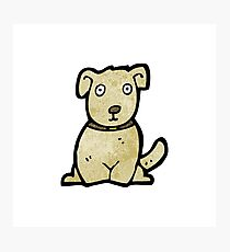 cartoon dog Photographic Print