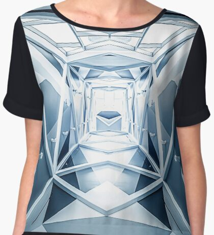 Portal To The Abyss Women's Chiffon Top