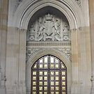 Westminster Tower Door, London by MagsWilliamson