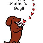 Mom's Dachshund Little Heart by HappyLabradors