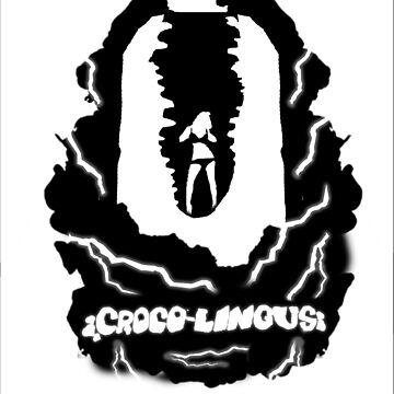 CrocoLingus T-shirt  by TrailersPU