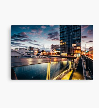 Grand Canal Dock, Dublin Canvas Print