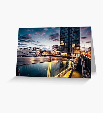 Grand Canal Dock, Dublin Greeting Card