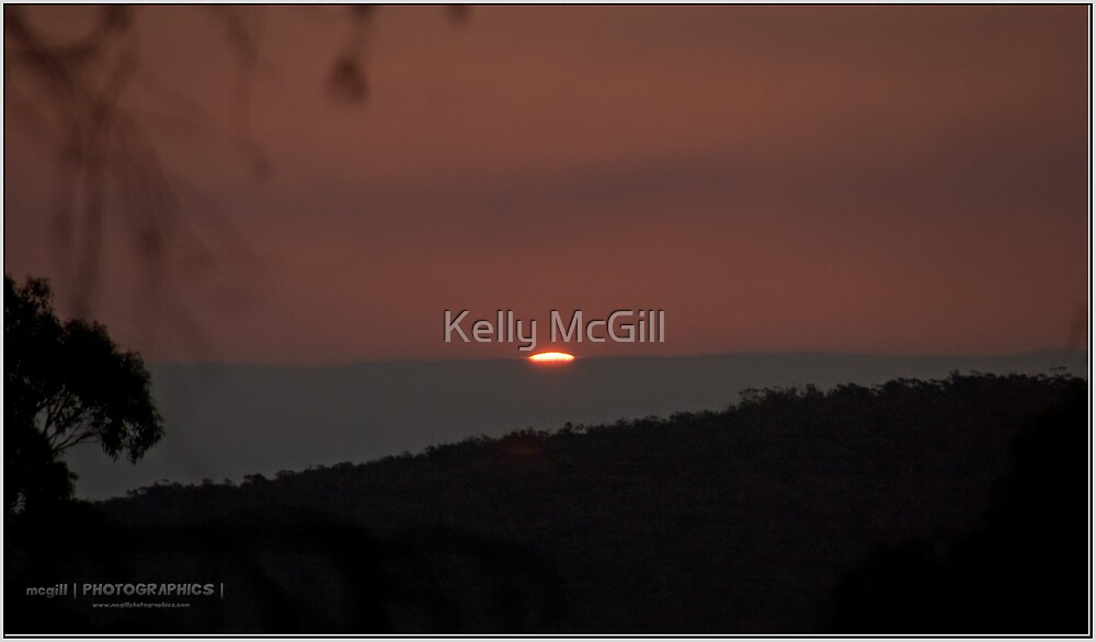 Coles Bay Sunset by Kelly McGill