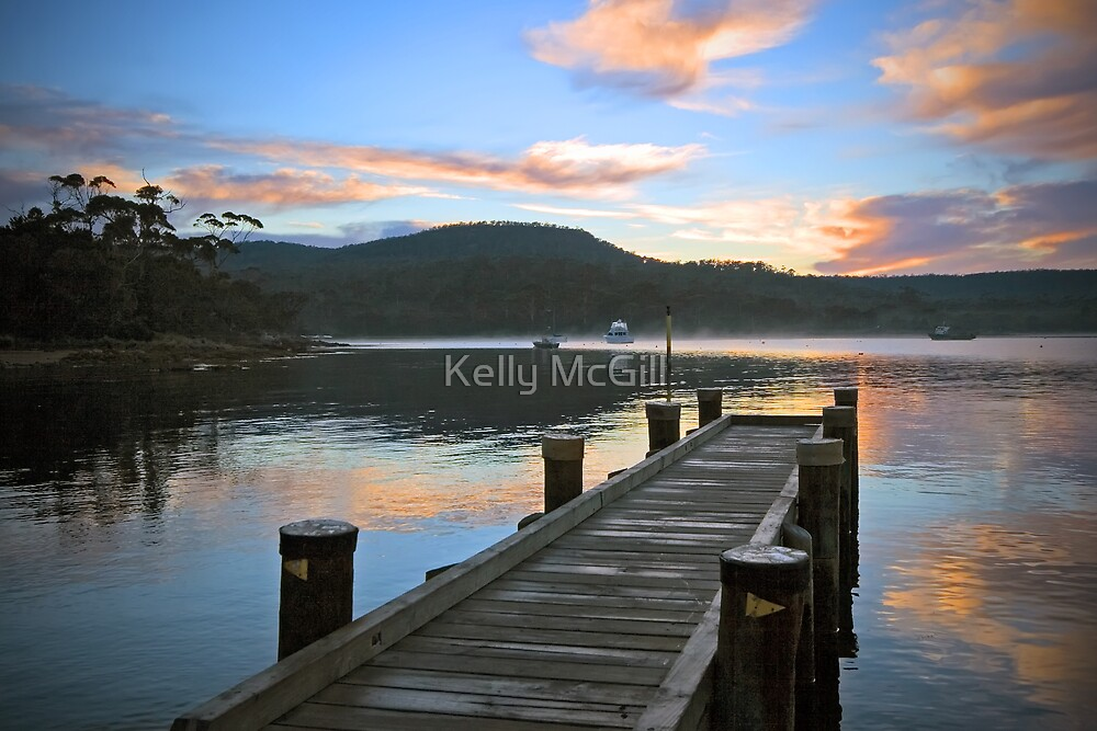 Coles Bay Jetty by Kelly McGill