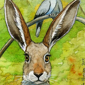 Funny Bunnies - Thoughts of Love 836 by schukinart