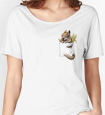 Pocket chipmunk Women's Relaxed Fit T-Shirt