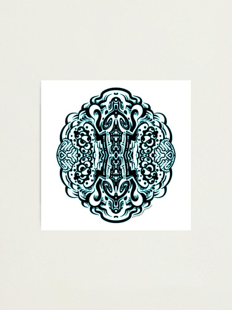 Alternate view of Hive Mind - Damage Remix Photographic Print