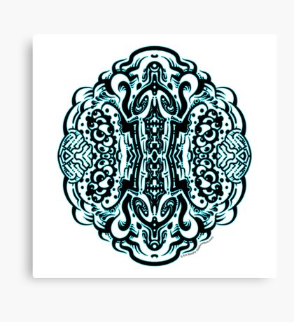 Hive Mind - Damage Remix Canvas Print