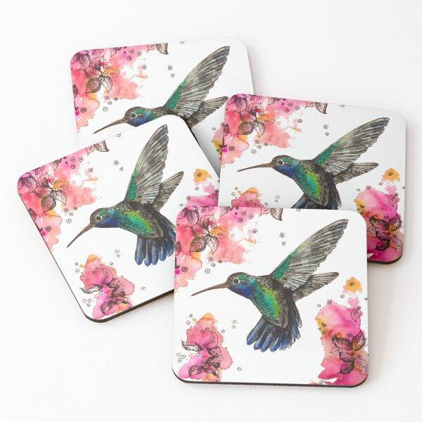Humming Bird Coasters (Set of 4)