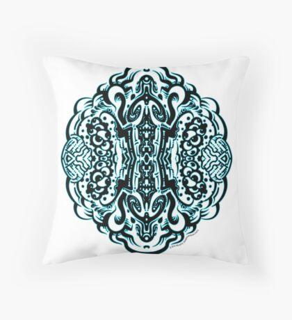 Hive Mind - Damage Remix Throw Pillow