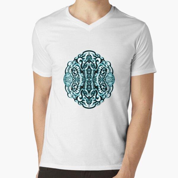 Hive Mind - Damage Remix V-Neck T-Shirt