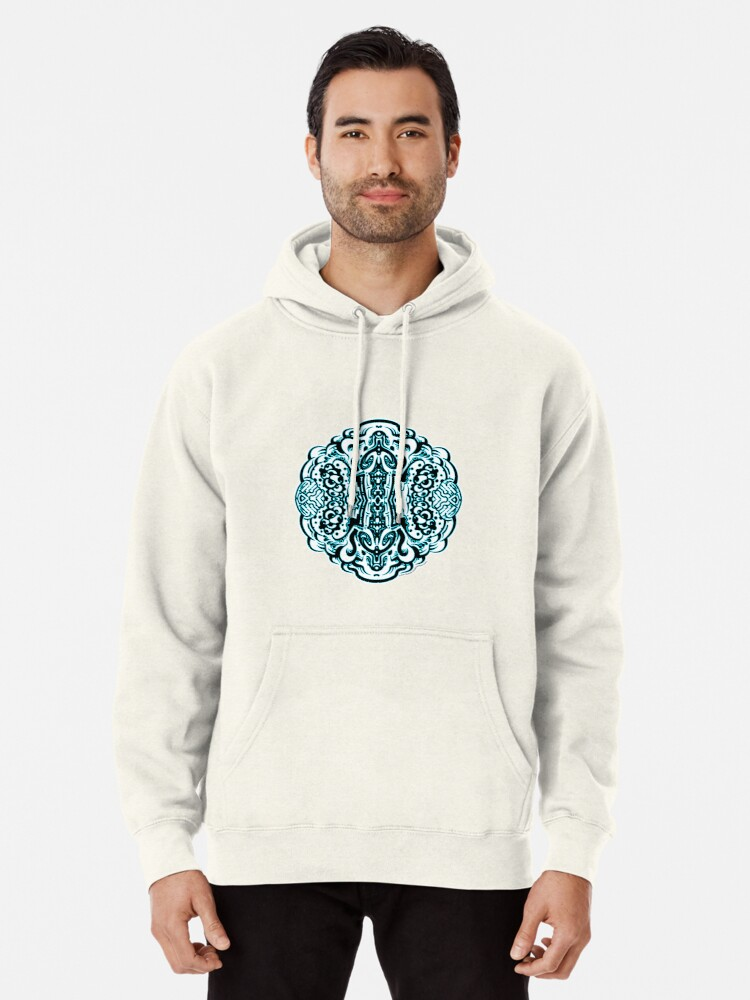 Alternate view of Hive Mind - Damage Remix Pullover Hoodie