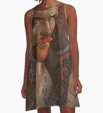 Captain Flint, Black Sails A-Line Dress
