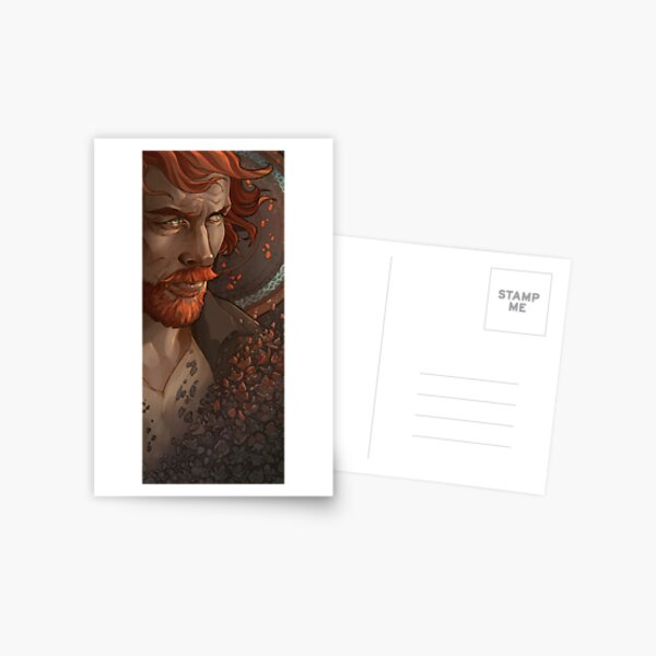 Captain Flint, Black Sails Postcard