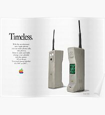 1980s iphone advert 2 Poster