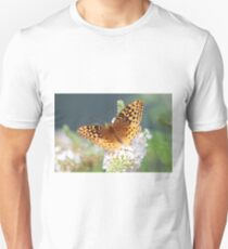 Great Spangled Fritillary Butterfly T-Shirt