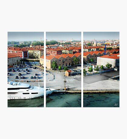 Leaving Venice Photographic Print
