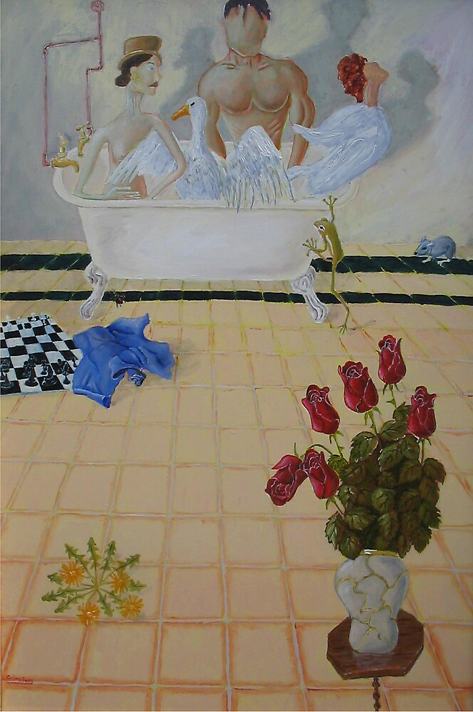 Bathroom Scene by Graham Dean