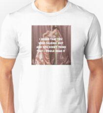 Hollaback Girl Eavesdropping Unisex T-Shirt