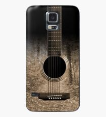 Sepia Forest Guitar Case/Skin for Samsung Galaxy
