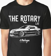 RX7 FC3S. Rotary Life Graphic T-Shirt