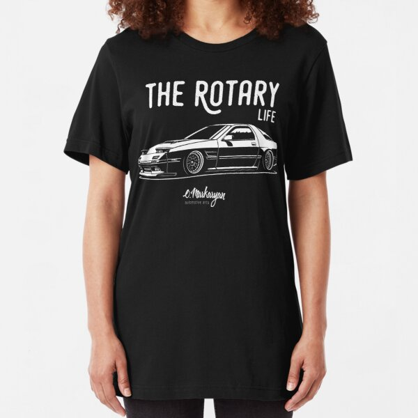 RX7 FC3S. Rotary Life Slim Fit T-Shirt