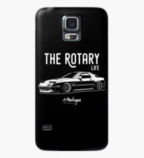 RX7 FC3S. Rotary Leben Hülle & Klebefolie für Samsung Galaxy