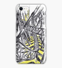Smiler Roller Coaster iPhone Case/Skin