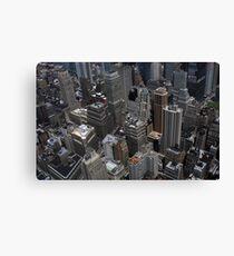 New York City Shapes Canvas Print