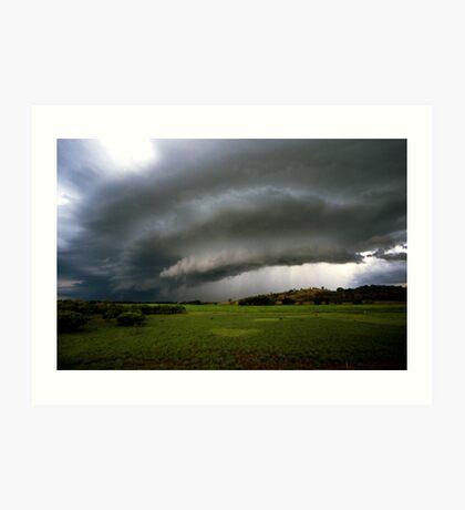 Top-end thunderstorm Art Print