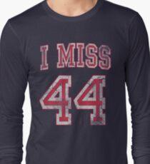 I Miss 44 Barack Obama Long Sleeve T-Shirt