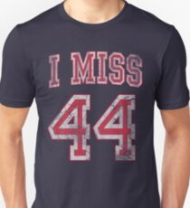 I Miss 44 Barack Obama Unisex T-Shirt