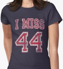 I Miss 44 Barack Obama Women's Fitted T-Shirt