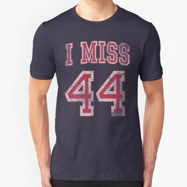 I Miss 44 Barack Obama Slim Fit T-Shirt