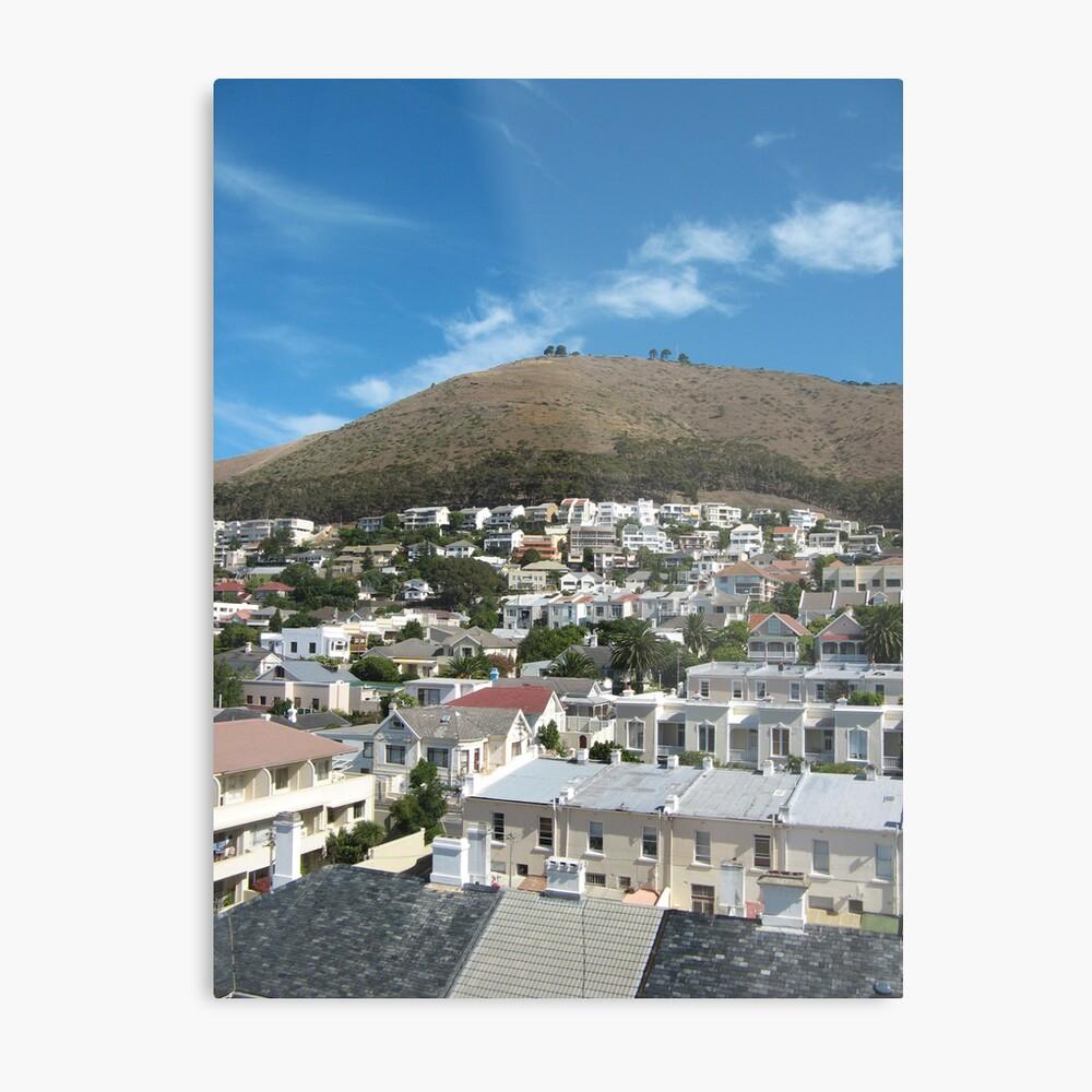 A Caped Town Metal Print