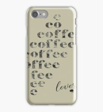 Coffee Lover iPhone Case/Skin