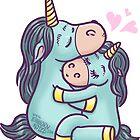 Loving unicorns by Kopfzirkus