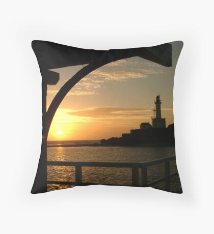 Pt Lonsdale Lighthouse Throw Pillow